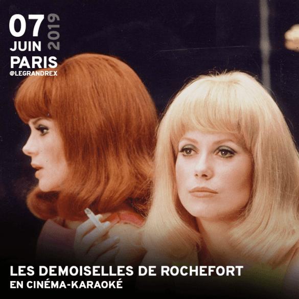 Les Demoiselles de Rochefort en cinéma-karaoké