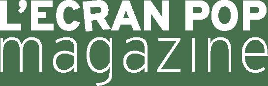 Logo L'Ecran Pop Magazine White