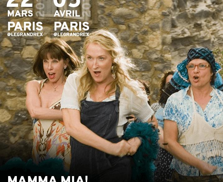 Mamma Mia en cinéma-karaoké