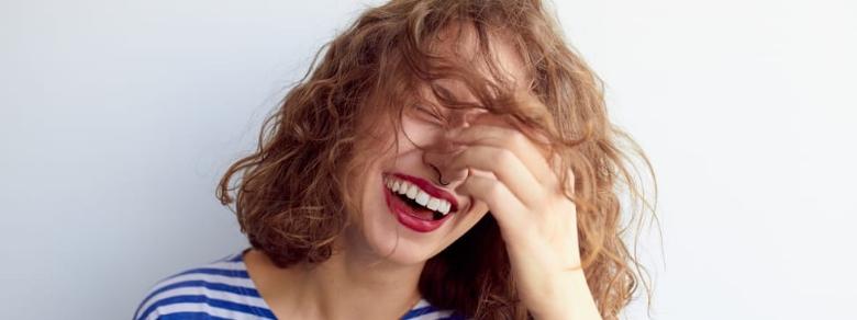 Il segreto per essere felici è saper ridere di se stessi