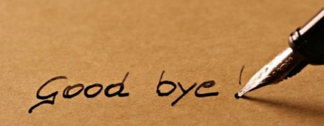 Quant'è importante dirsi addio