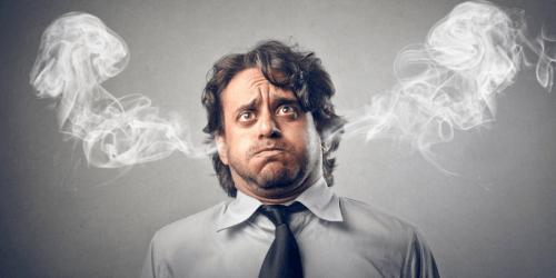 sintomi di una persona stressata