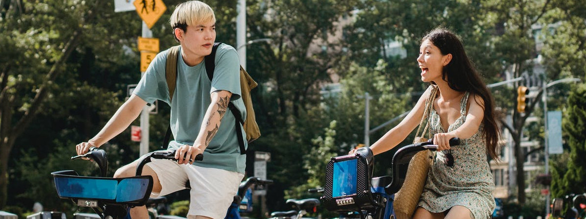 Coppia in bici: perché usarla proprio oggi?
