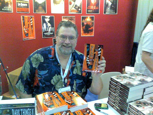 Jonathan Maberry photo from Dead of Night signing