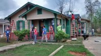 2015: Worked with Habitat for Humanity to build homes for those displaced by Hurricane Katrina in Hattiesburg, Miss.