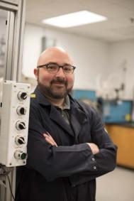 David Lipke, assistant professor of ceramic engineering