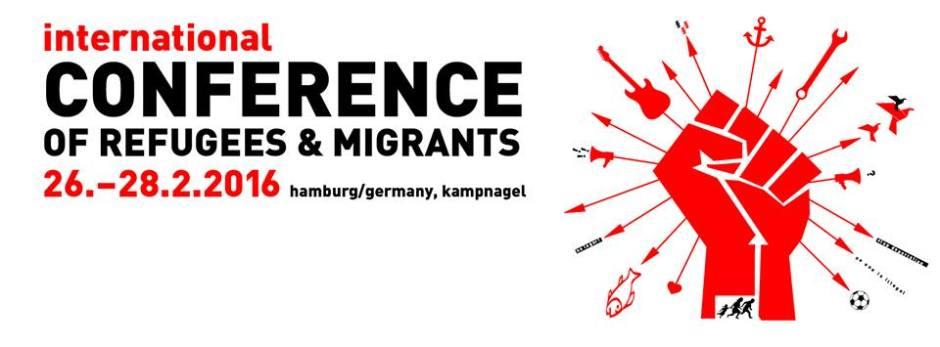 Refugee Conference in Hamburg