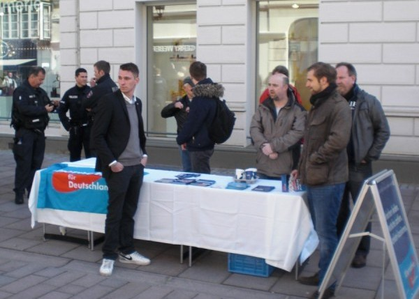 AfD Stand