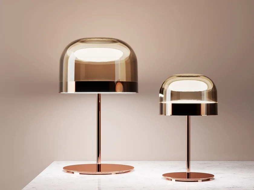 lampade in metallo dorato equatore fontanaarte