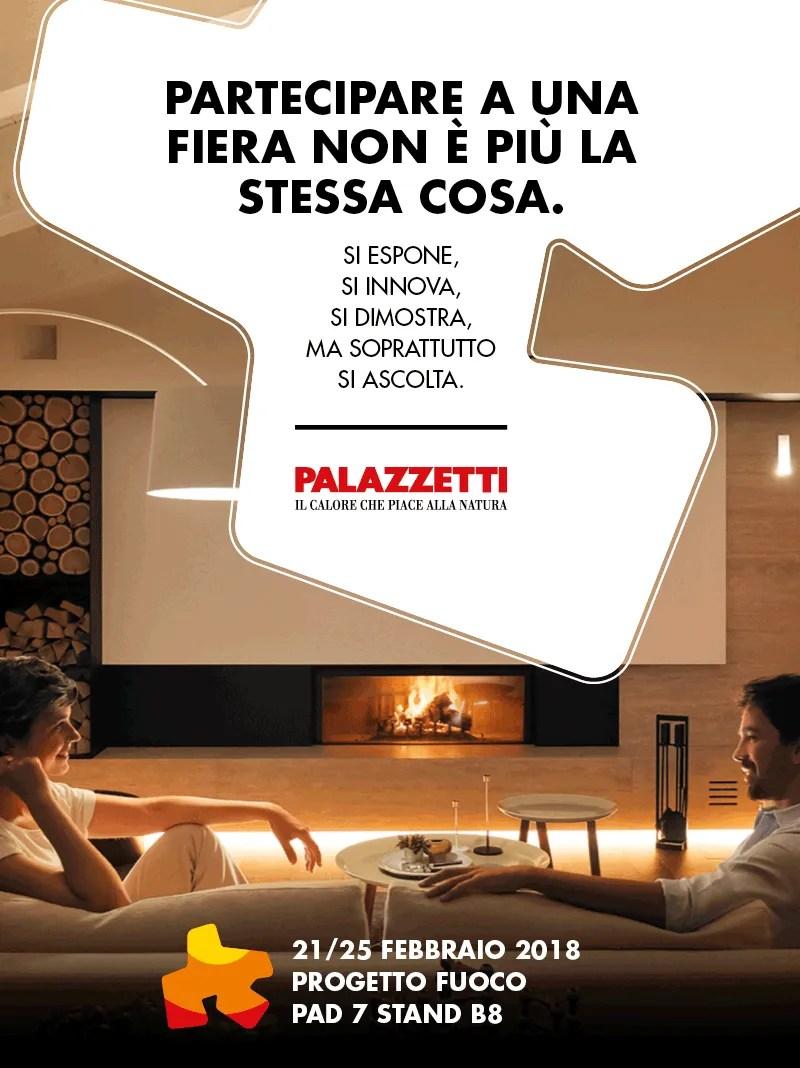 invito progetto fuoco 2018 verona - palazzetti