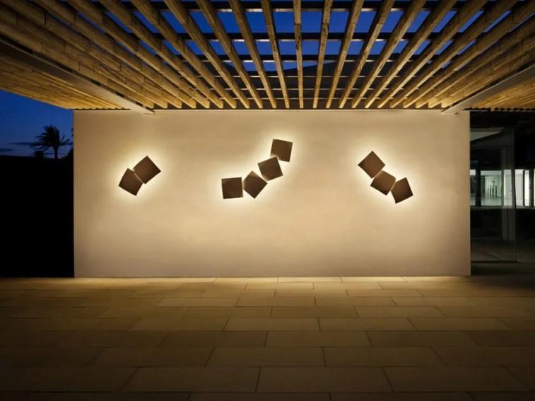 Applique per esterno Origami di Vibia
