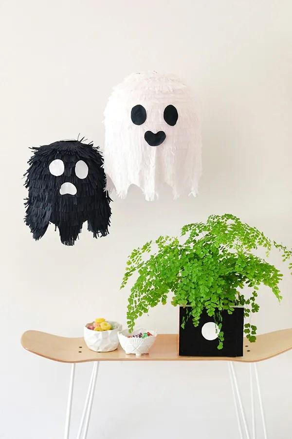decorazioni per halloween - lampadari fantasma
