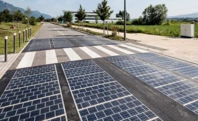 pannelli solari - strada solare
