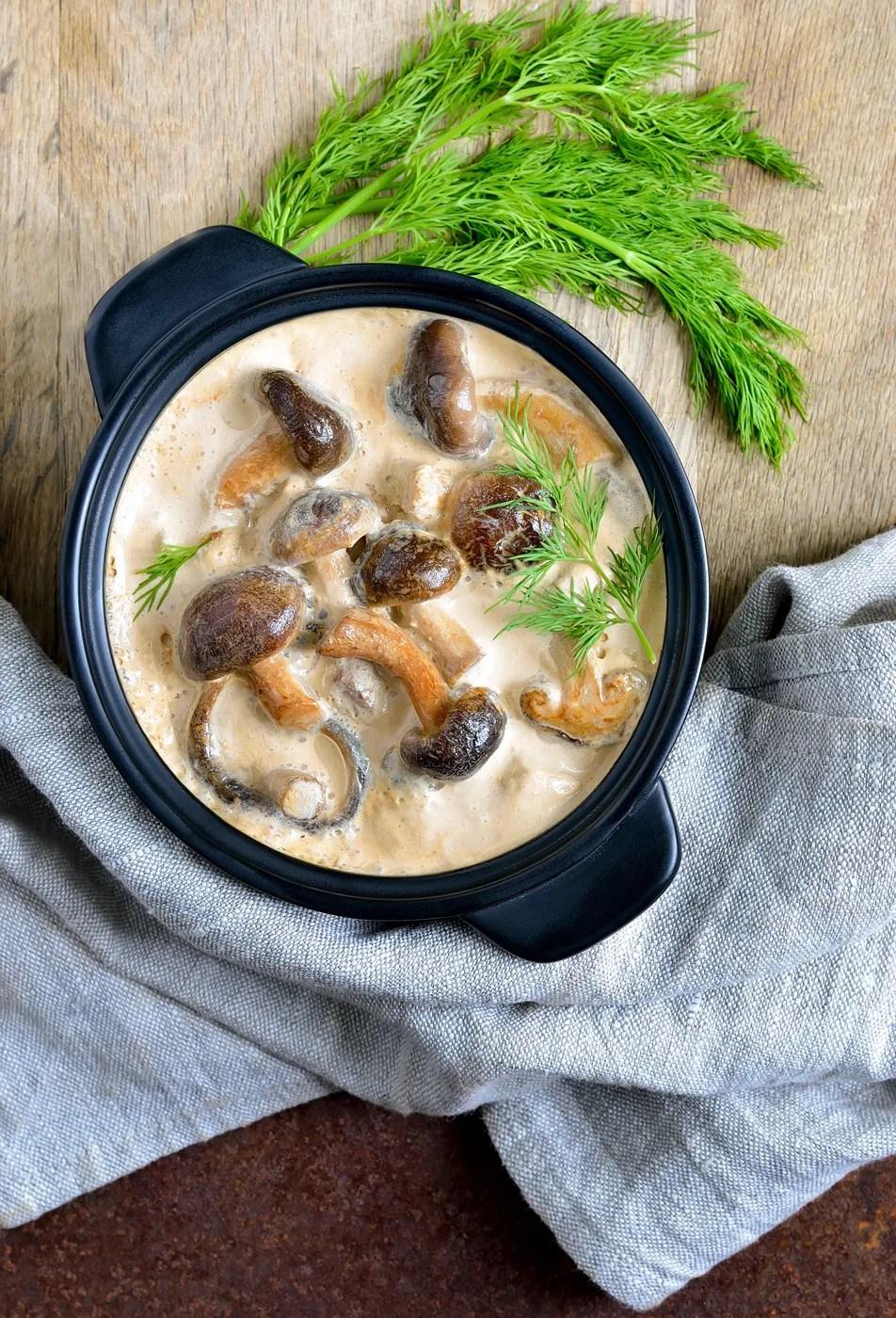 salsa ai funghi - ricetta palazzetti
