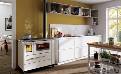 come progettare la cucina - cucina a legna Alba di Palazzetti