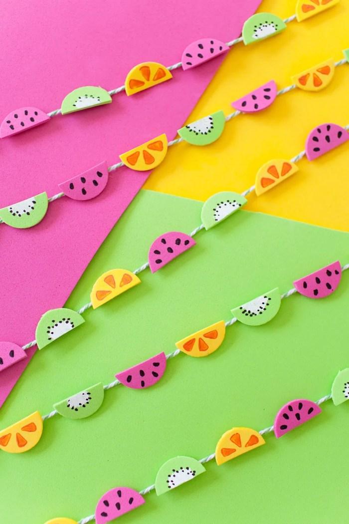 decorazioni fai da te per le feste estive_festone