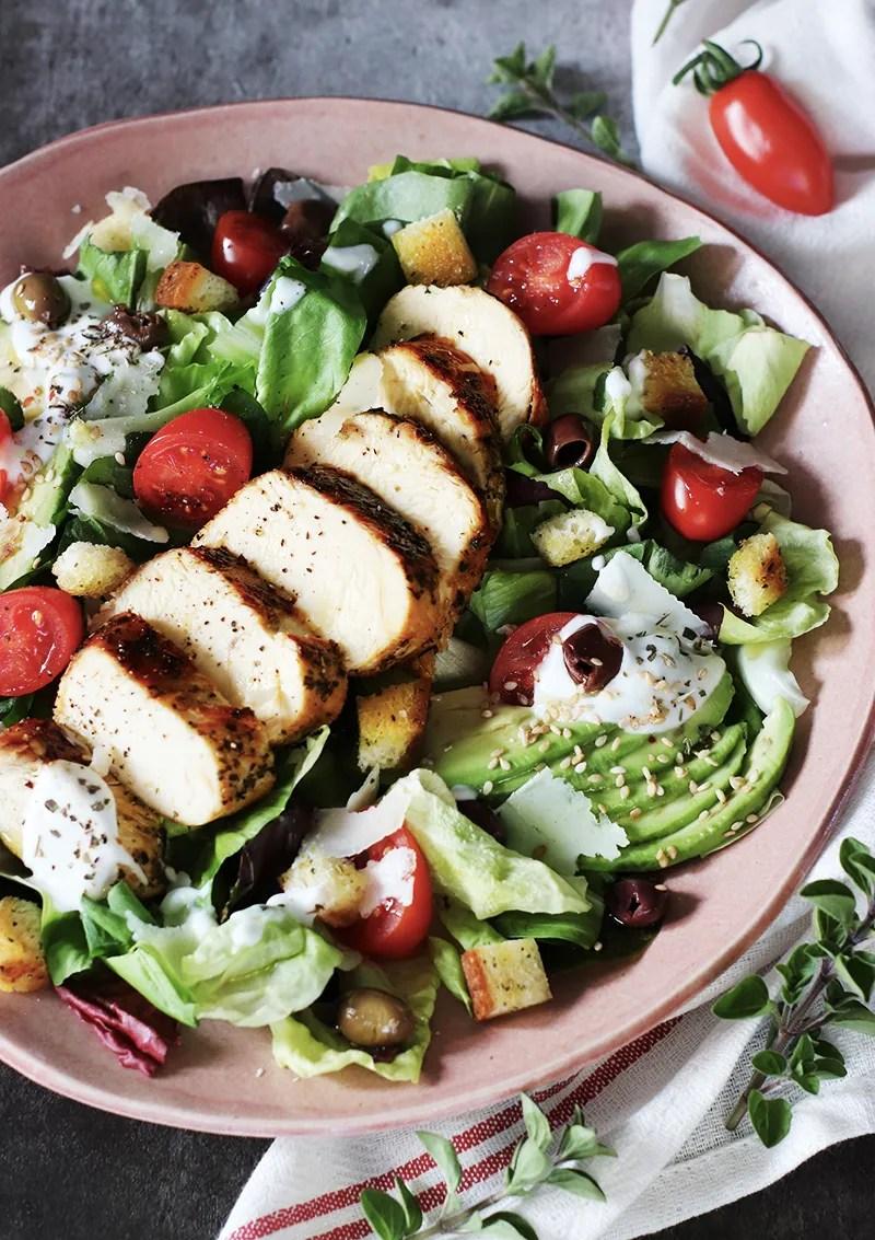 Caesar salad: come grigliare il pollo alla perfezione