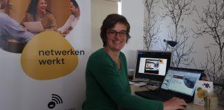 Eventmanager Ineke van der Pol tijdens webinar JobOn