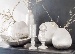 casa-scintillante_vasi argento linea Mirage Interior di Tognana