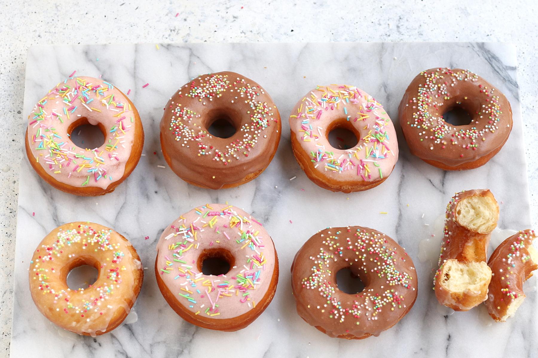 Ricetta doughnuts americani