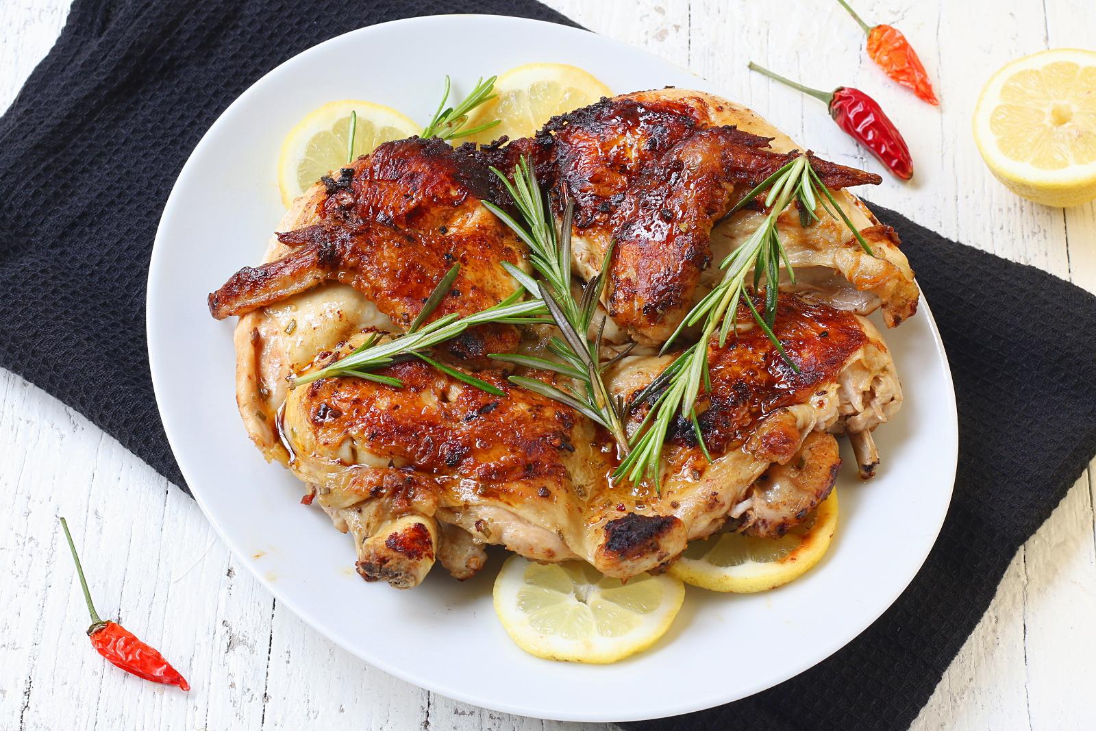 Pollo alla diavola croccante
