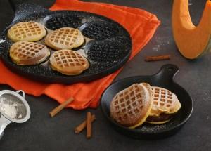 Ricetta dei waffle alla zucca