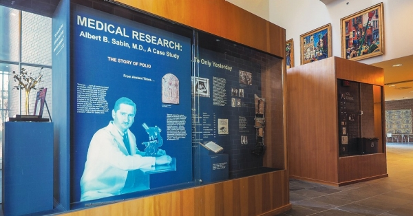 Many museum-quality displays on UC's campus for visitors ...