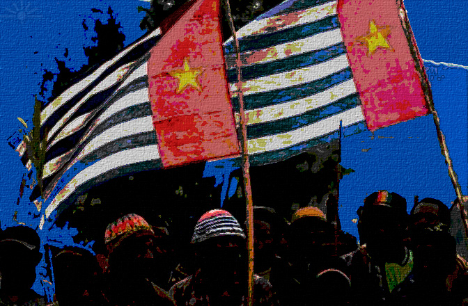 A voyager and a settler: West Papuans protest for freedom