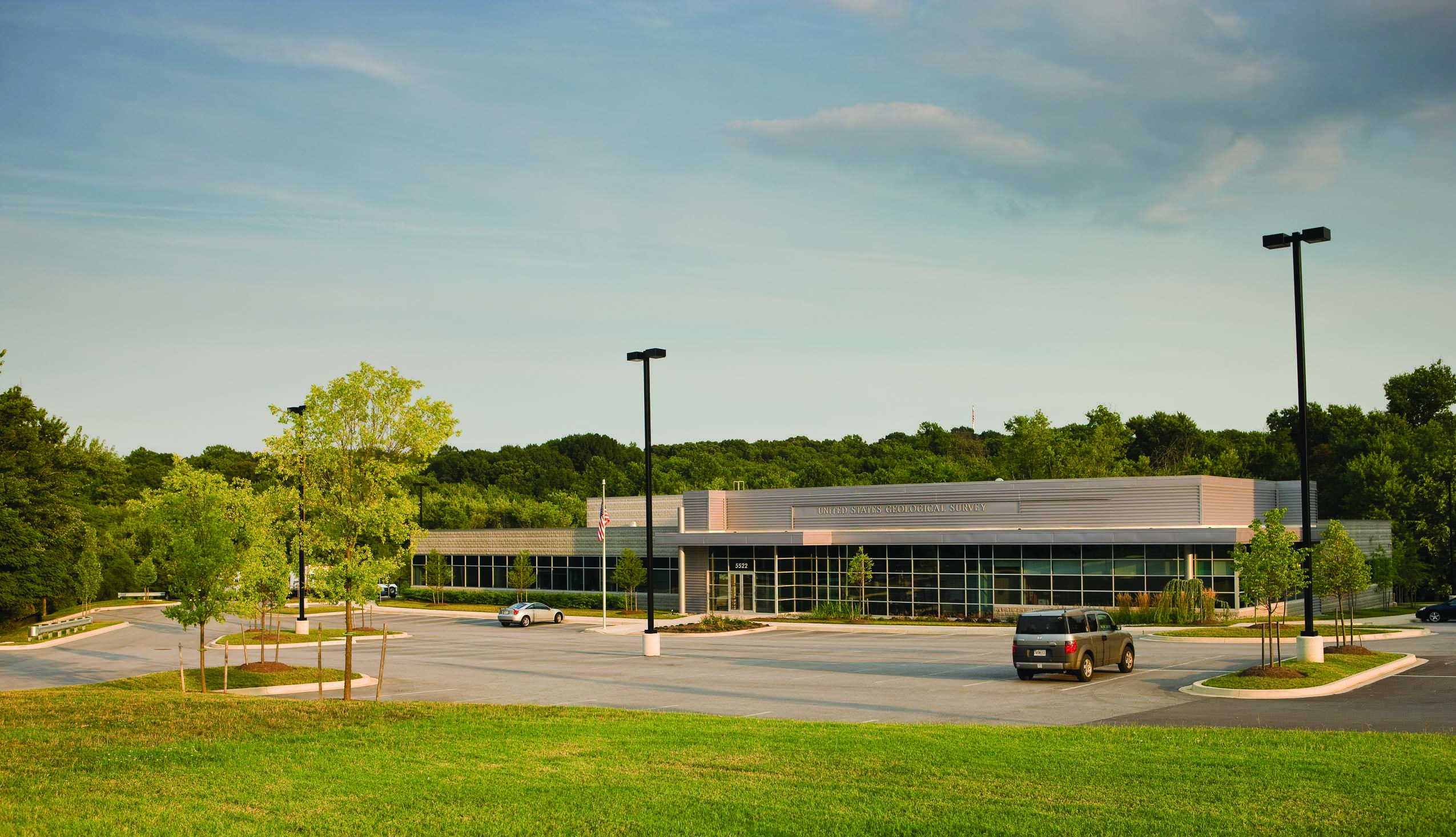 United State Geological Survey building at BWTech research park