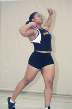Borel trains to compete in her third olympics