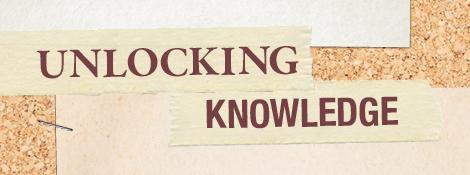 Unlocking Knowledge cropped