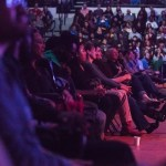 Audience at Trevor Noah comedy show
