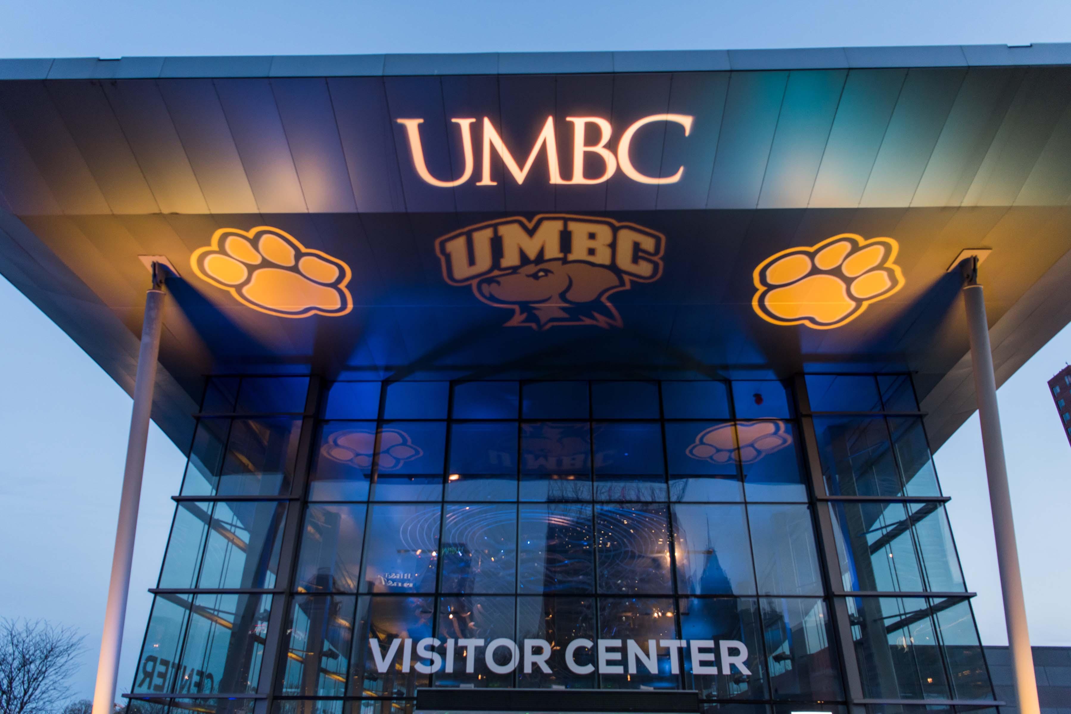 UMBC visitor center