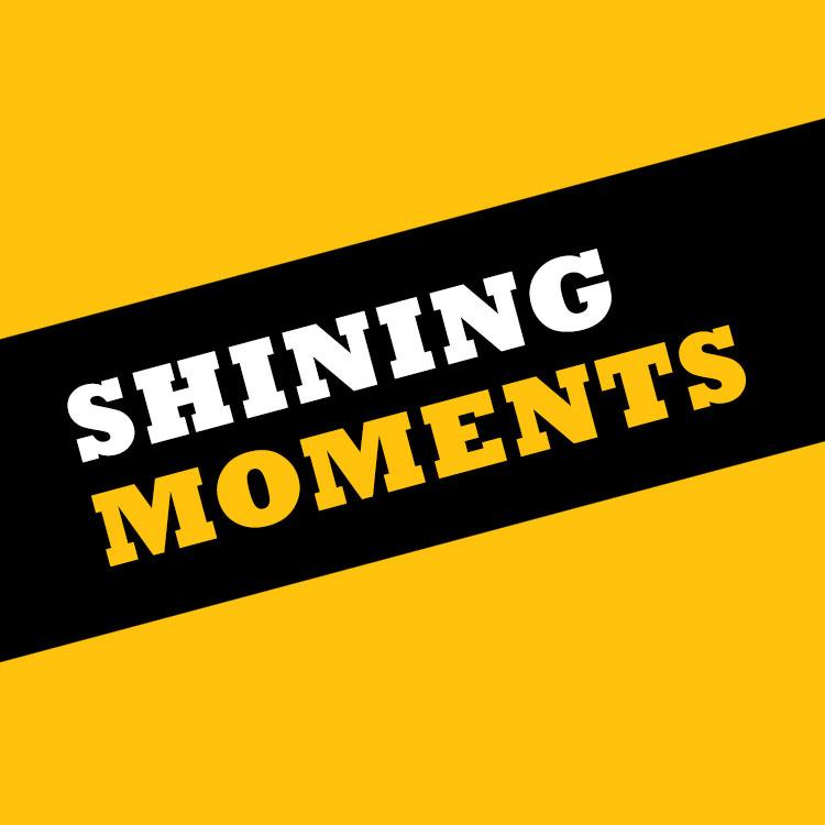 Shining moments square