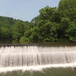 Bloede Dam (ca. 2016) near Ilchester, Maryland. Matthew Baker/UMBC, CC BY-SA