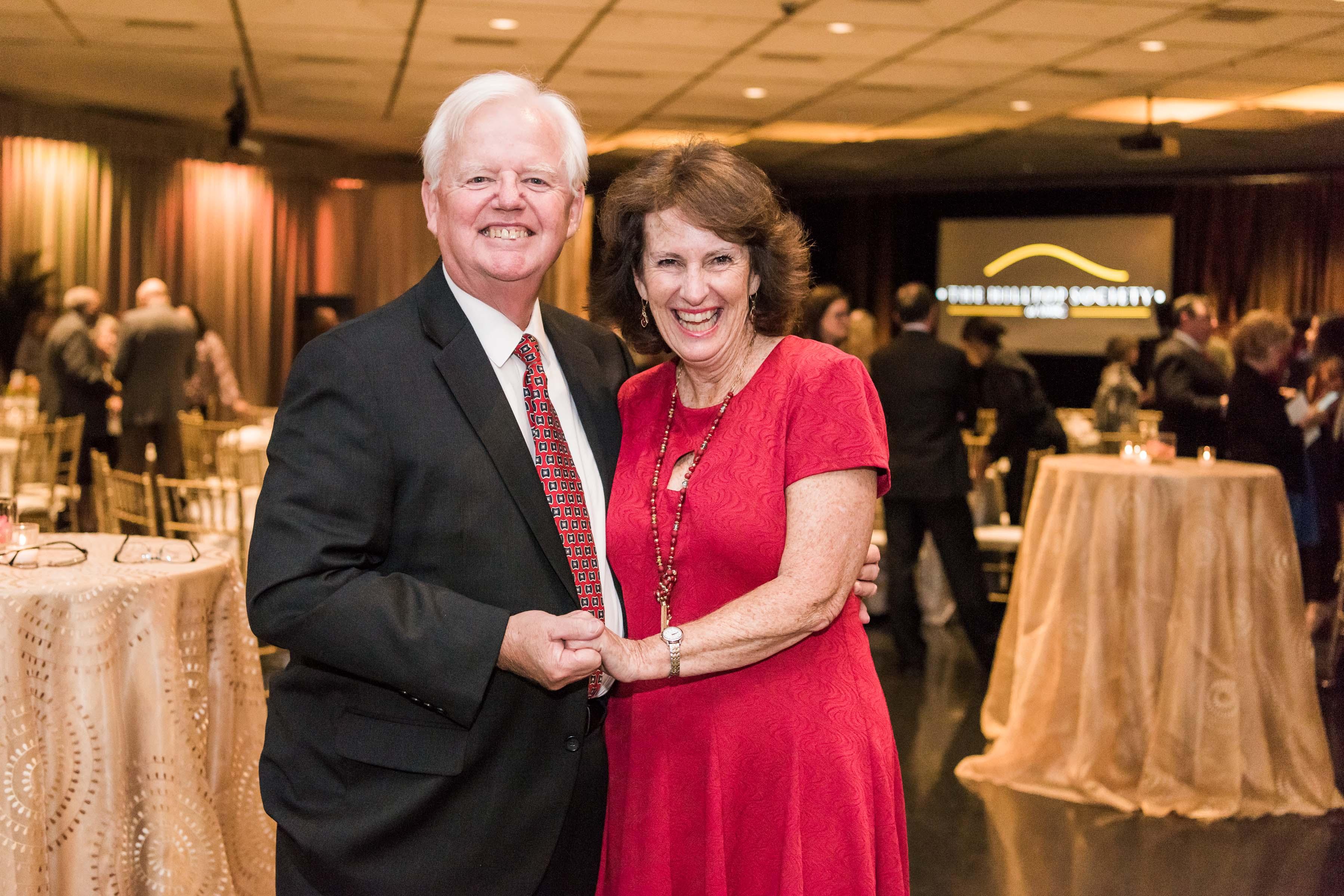 Jim and Kathy Kruger pose together