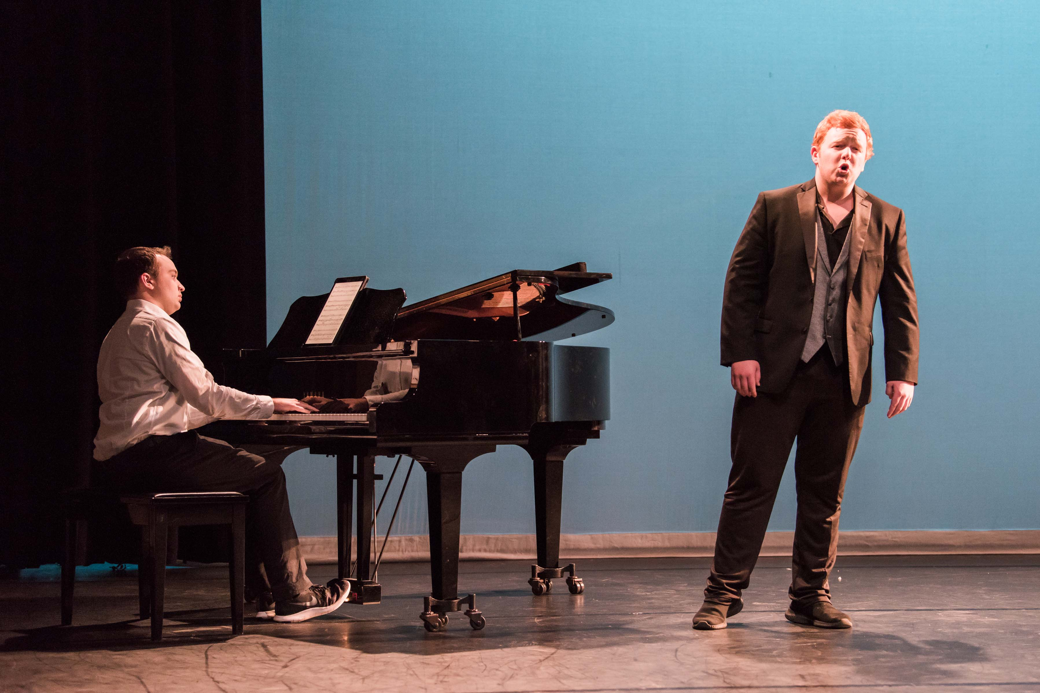 Addison baldridge singing for Linehan reception