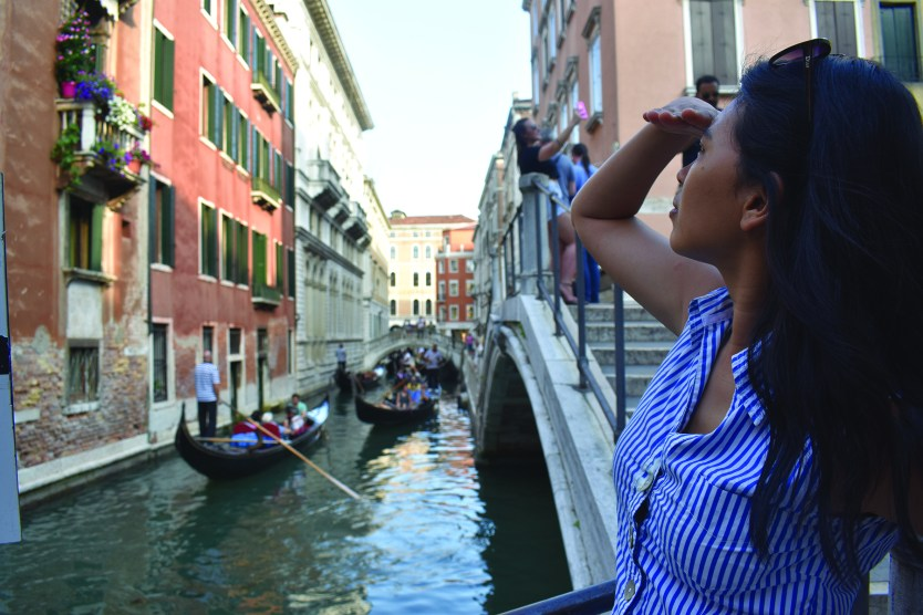 Student Tenzin Yangchen wrote a series of blogs during her trip to Italy.
