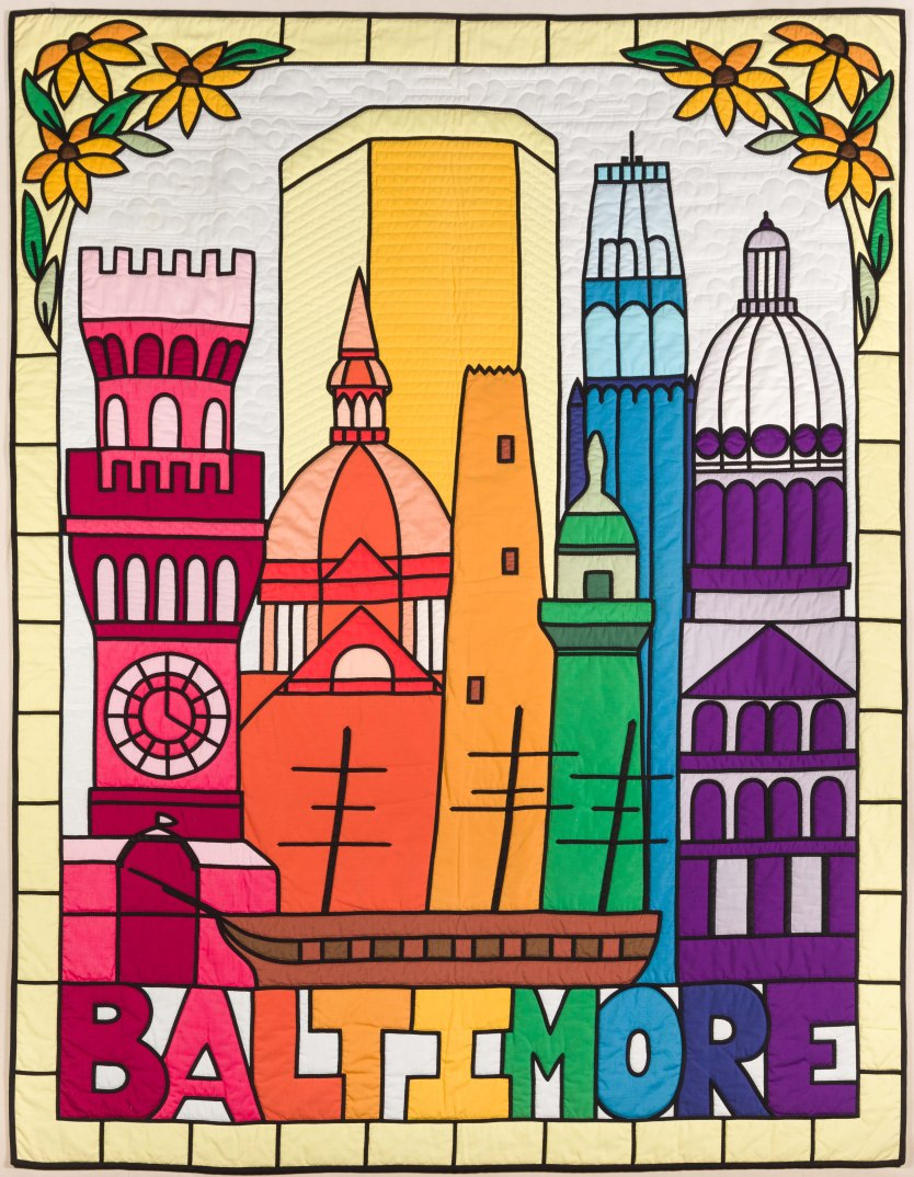 Baltimore: Through a Glass Brightly, 1981, courtesy of Maryland Historical Society.