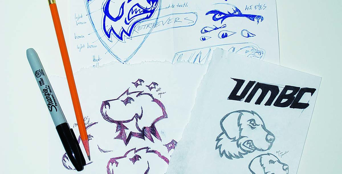 Drawings of different True grit logos