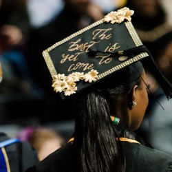 The best is yet to come graduation cap