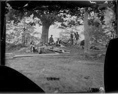 "Brompton, the UMW president's home, was central to the 1862 Battle of Fredericksburg, one of the largest and deadliest of the Civil War. By 1864, when Mathew Brady photographed the tree we now call the ""Brompton Oak,"" the home was a Union hospital."