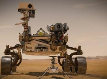 L'immagine mostra il rover Perseverance