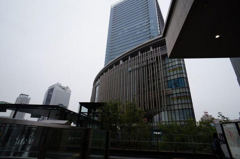 JR大阪駅直結だけでも、4箇所!