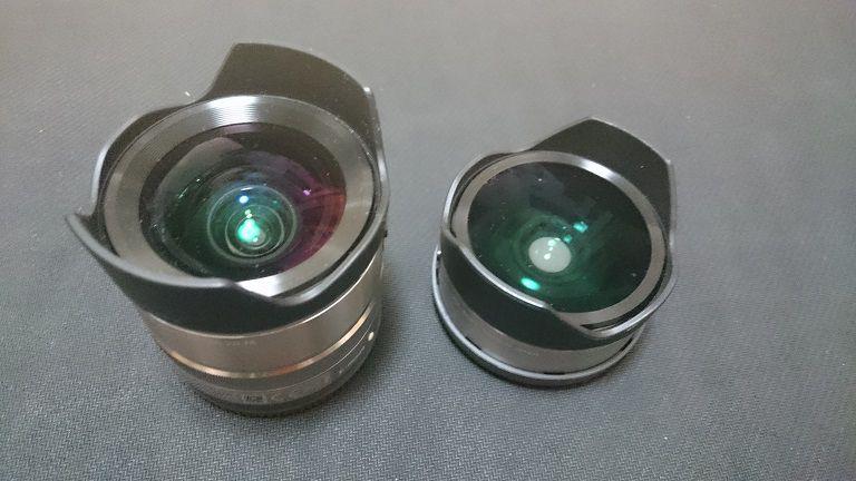 広角レンズ・魚眼レンズ