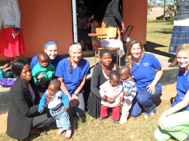 Seminary wives and babies after a health education class
