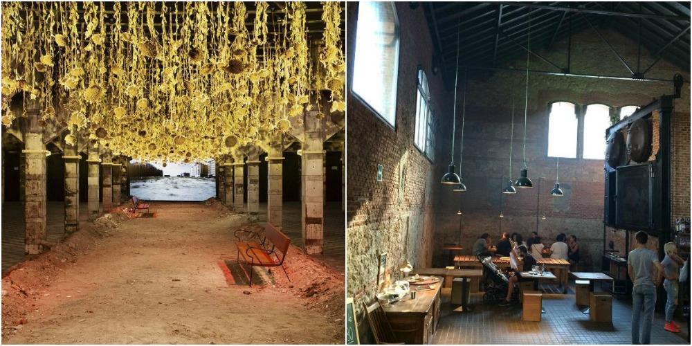 Installazioni al Matadero e menù hipster a La Cantina