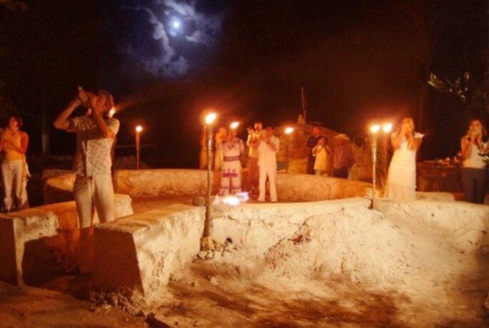 Disfruta de una noche maya en compañía de tu pareja - Foto
