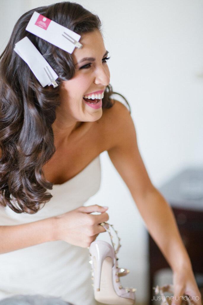 8 cosas que todas las novias deben hacer el día de su boda - Justine Ungaro