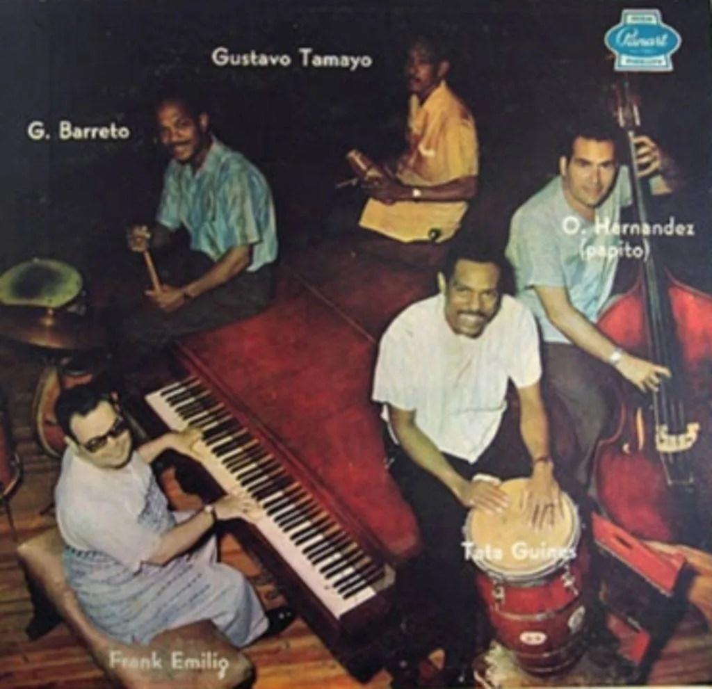 Portada del álbum Grupo Cubano de Música Moderna
